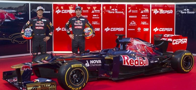 Fotó: a Toro Rosso is bemutatta új autóját