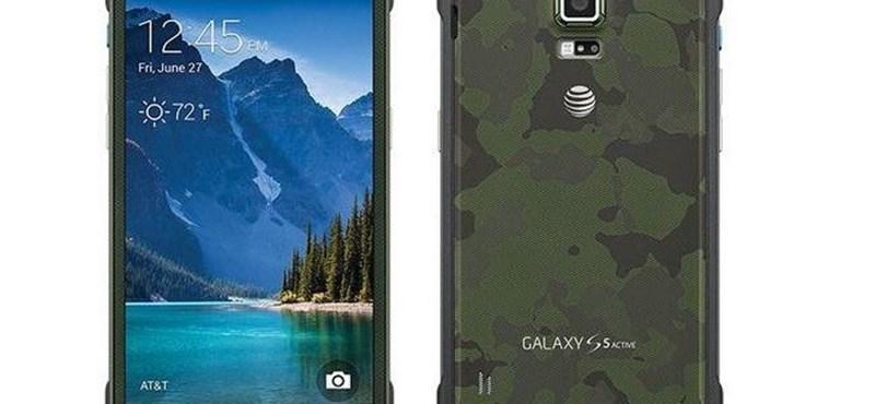 Hivatalos: megjelent a Galaxy S6 strapabíró változata
