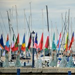 Pénzt is kerestek a nyíltvízi úszók a Balatonban