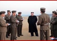 Kim Dzsong Un rakétákat lövöldözött a Japán-tengerbe