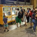 Estétől reggelig bezárják a belföldi pénztárakat a Nyugati pályaudvaron