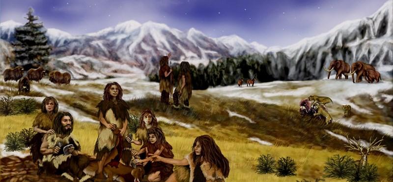 A szélsőséges időjárás alaposan hozzájárulhatott a neandervölgyi ember kihalásához