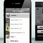 Új fotóalbumok létrehozása az iOS eszközön