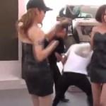 Táncoló bombanőkkel játszották ki a hosztesztilalmat a Sanghaji Autószalonon