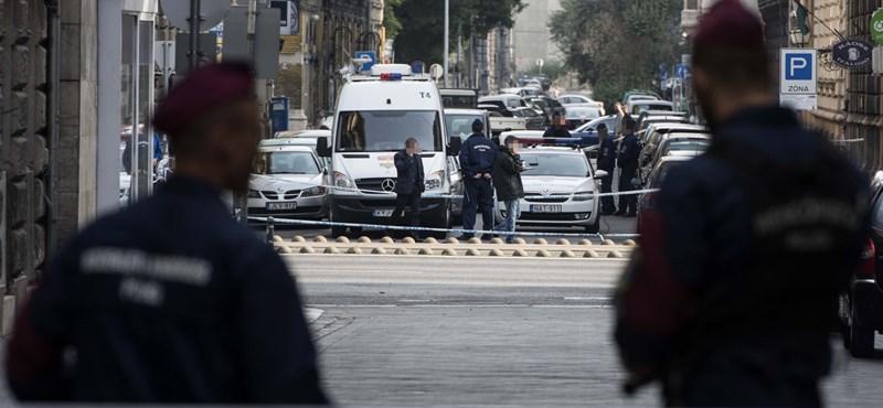 Még ma kirakják a felvételt a Teréz körúti robbantóról