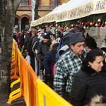 Hajnaltól várakoztak: 2600 ember ebédelt szenteste a Blahán - Fotók