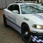 Menő, hogy a pardubicei rendőrök 5,7 literes motorú Dodge Chargerral járnak
