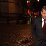 Páros lábbal szállt bele James Corden egy műsorvezetőbe