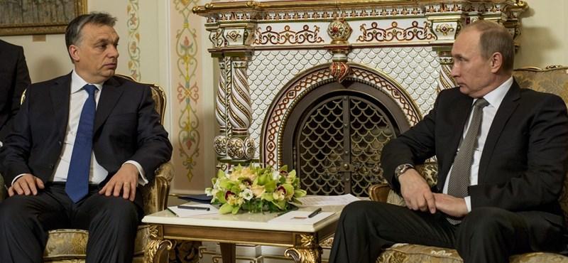 """Lavrov: """"Putyin Orbán Viktor látogatását viszonozza"""""""