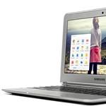 Olcsó Chromebook, 100 GB ingyen tárhellyel