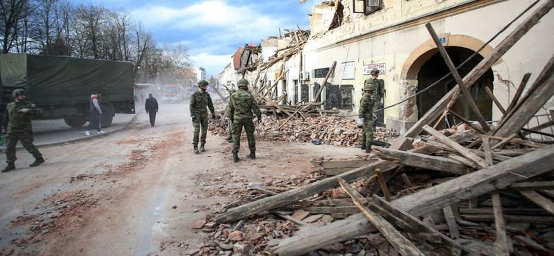 Horvátországi földrengés: eddig több mint 400 utórengés történt