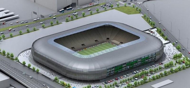 Kiemelt beruházás lett az új Fradi-stadion