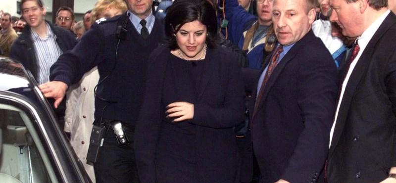 """Monica Lewinsky: """"Beleszerettem a főnökömbe, ahogy a 22 évesek szoktak"""""""