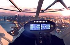Sikeres repülésen van túl a légi taxi, amely a 2024-es párizsi olimpián szállíthat majd utasokat