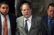 Támogatni kellett Harvey Weinsteint a bírósági meghallgatáson