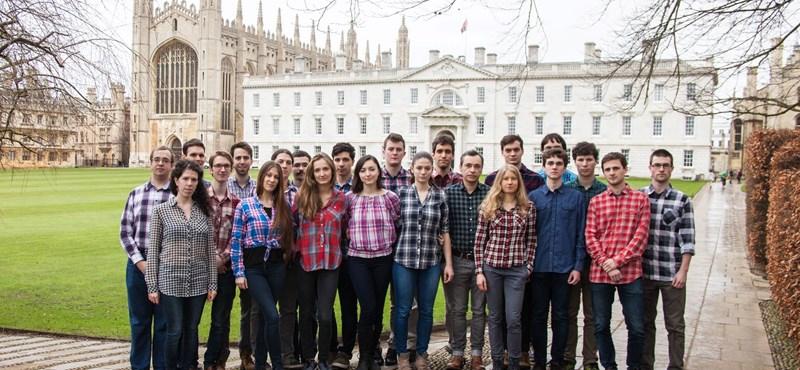 Cambridge is bekockásodott