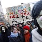 Szombaton négytől tüntetnek a magyarok az ACTA ellen