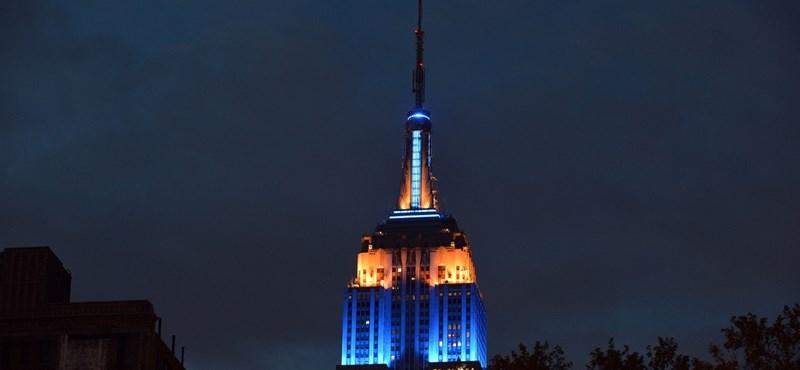 Kilencven éves New York ikonikus épülete, az Empire State Building