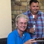 Bunyós Pityuval és pálinkával mulatott nálunk a holland szélsőjobb vezére