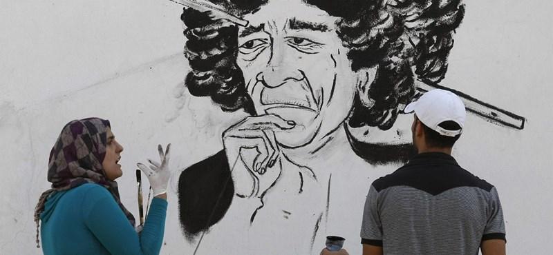Mégis szabadlábon Kadhafi fia