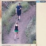 Bizarr módszerrel kerülte el a fotósokat az énekesnő – fotó, videó