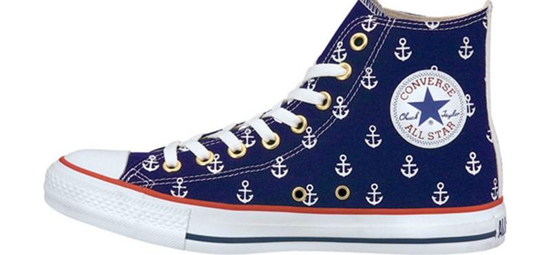 Converse All Star cipő, balatoni vitorlázásokhoz