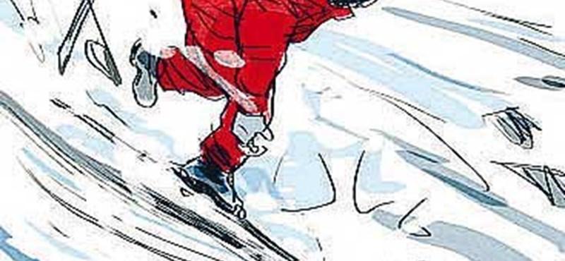 Képregény: így történhetett a Schumacher-baleset