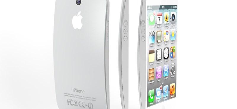 Szokatlan fotók: iPhone 5, domború hátlappal!