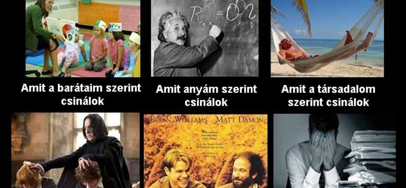 Nyolc tanártípus, akit minden diák ismer