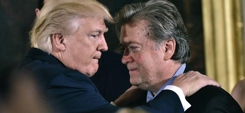 Letartóztatták Steve Bannont, Trump korábbi kampányfőnökét