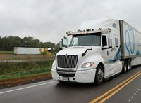 41 óra alatt szelte át Amerikát egy önvezető kamion