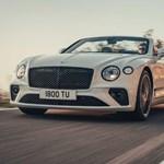 635 lóerővel érkezett meg a nyitható tetejű Bentley Continental GT