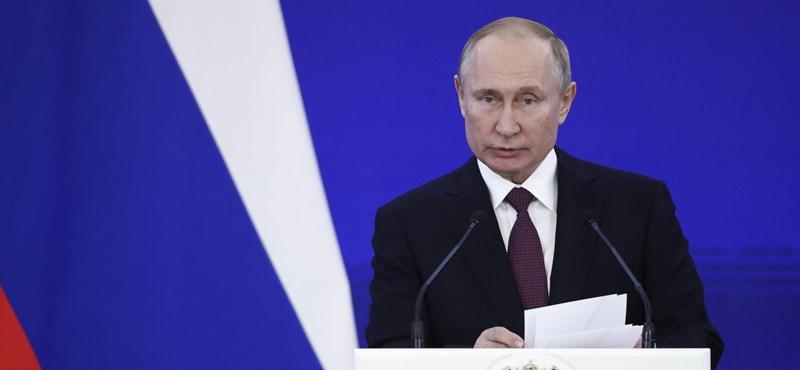 Beperelték Putyint