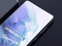 Egyedi megoldás: trükkösen rejtené el az okostelefon-kamerát a Samsung