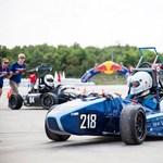 Egyetemisták által tervezett autók versenyeznek Győr mellett - képek