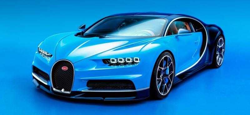 Megérkezett a Bugatti Chiron. De lesz-e akkora király, mint a Veyron?