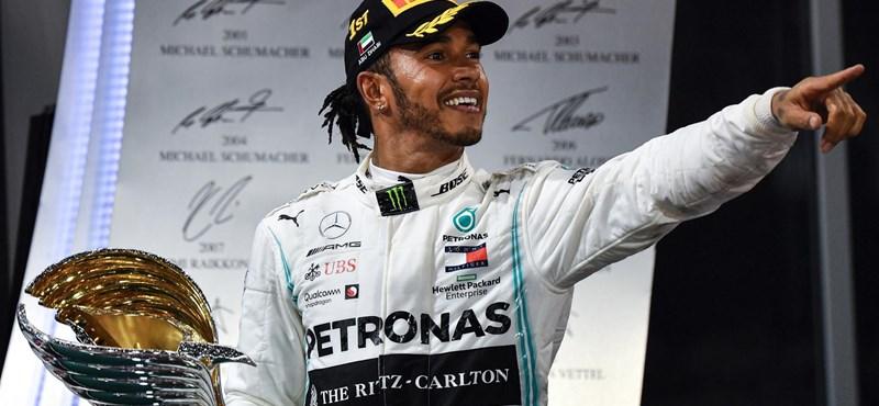 Hamilton magabiztos győzelemmel zárta az F1-es szezont