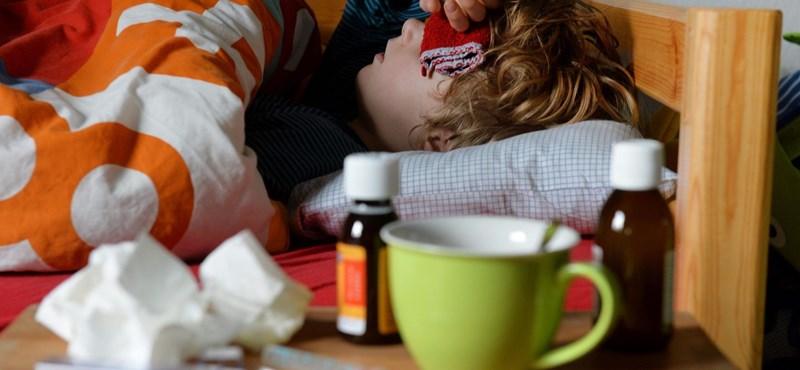 Lassabban terjed az influenza Magyarországon