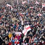 A minszki helyzet fokozódik: figyelmeztető lövések a mai tüntetésen