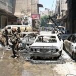 Gyerekek is meghaltak: aknatámadás egy damaszkuszi menekülttáborban