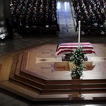 Elbúcsúztatták George H. W. Busht Washingtonban – fotók, videó