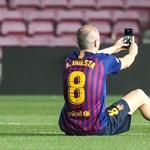 Depresszióval küzdött Iniesta a Barca játékosaként