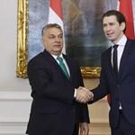 Az osztrák kancellár eltolja magától Orbánt, és csökkentené az EU-pénzeket