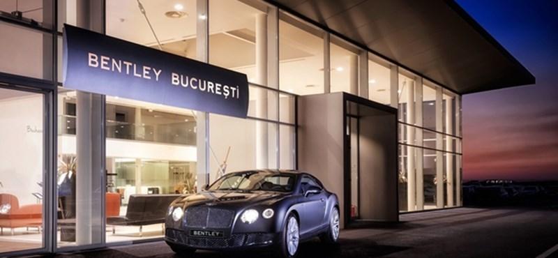 Új Bentley bemutatóterem nyílt Bukarestben