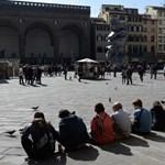 Nagy bírságot kaphat, aki az utcán eszik Firenzében
