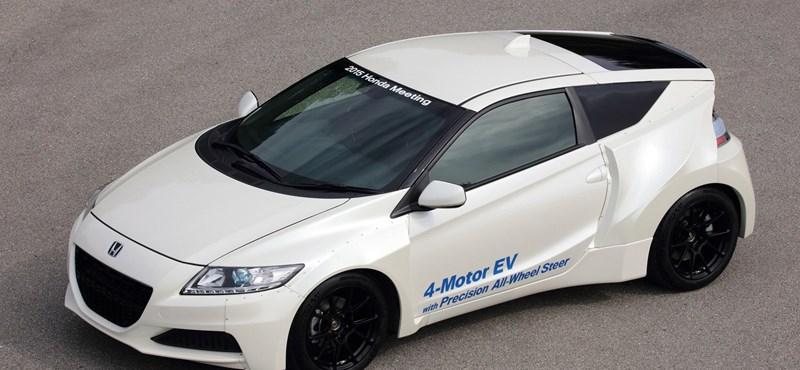 1 millió zöldautót ígér a Honda, de mikorra