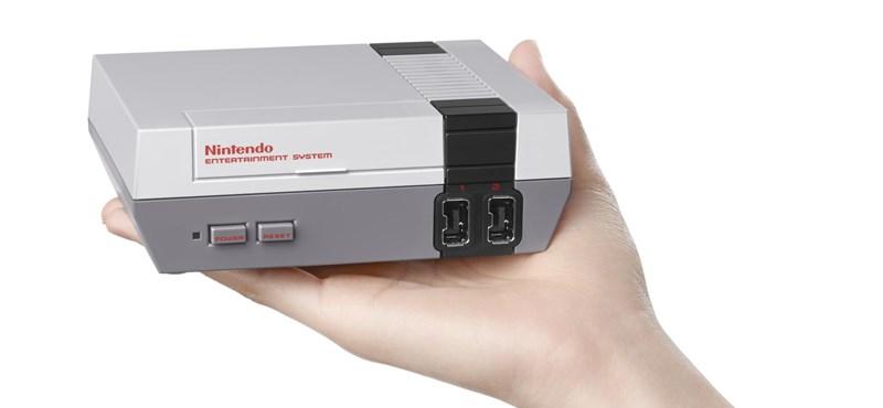 Megvalósul egy álom: újra kiadja a Nintendo a legendás NES konzolt, 30 játékkal
