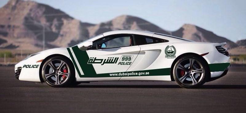 Már McLarenje is van a dubaji zsaruknak