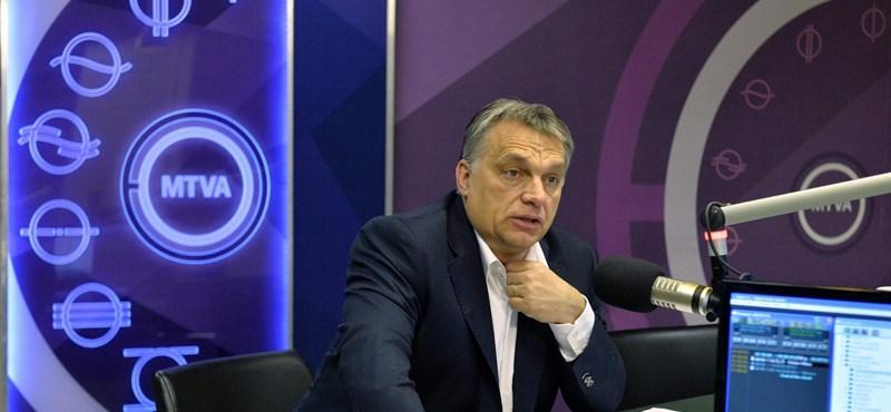 Orbán reggeli nyilatkozata miatt tesz feljelentést egy fideszes
