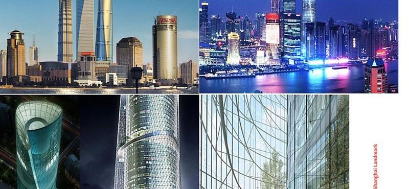 Elképesztő fotók! Íme a Sanghaji világkiállítás megnyitója